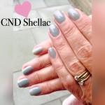 CND Shellac op de natuurlijke nagels.