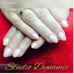CND Briasa Gel met CND Shellac French en additives