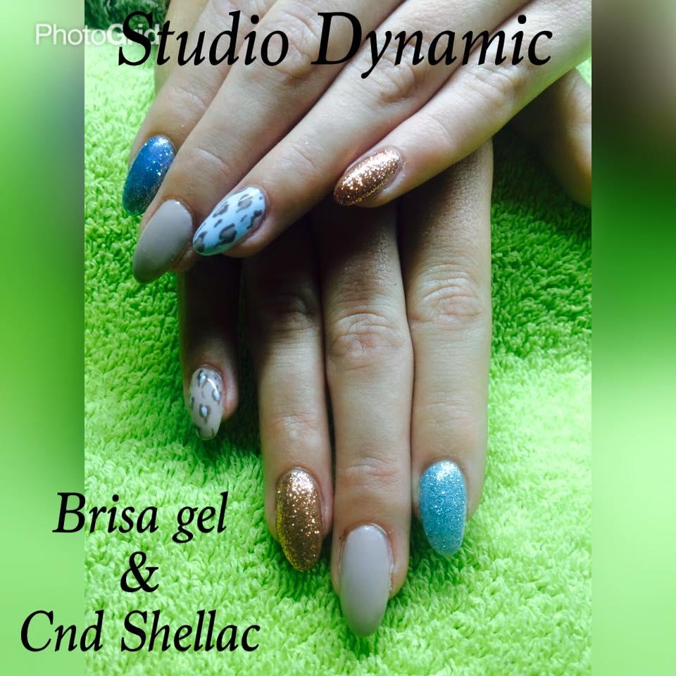 Brisa gel met CND Shellac