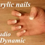 Cnd Acrylnagels french manicure